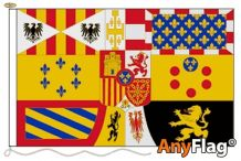 -ROYAL STANDARD OF ALFONSO XIII  AND JUAN ANYFLAG RANGE - VARIOUS SIZES